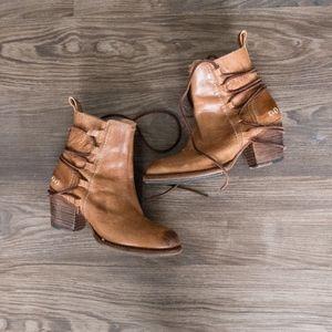 Bed Stu Blaire Bootie Women's Brown Boots Size 7